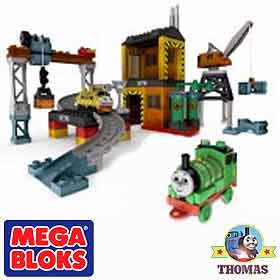 Diesel 10 Toy Thomas and friends Mega Bloks day of the diesels set Sodor Dieselworks Percy the train