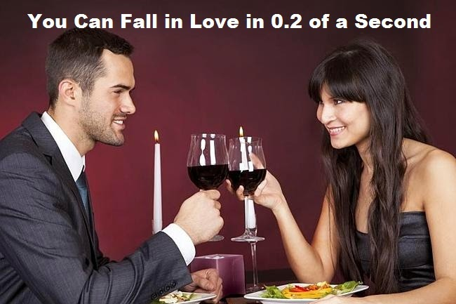 You Can Fall in Love in 0.2 of a Second