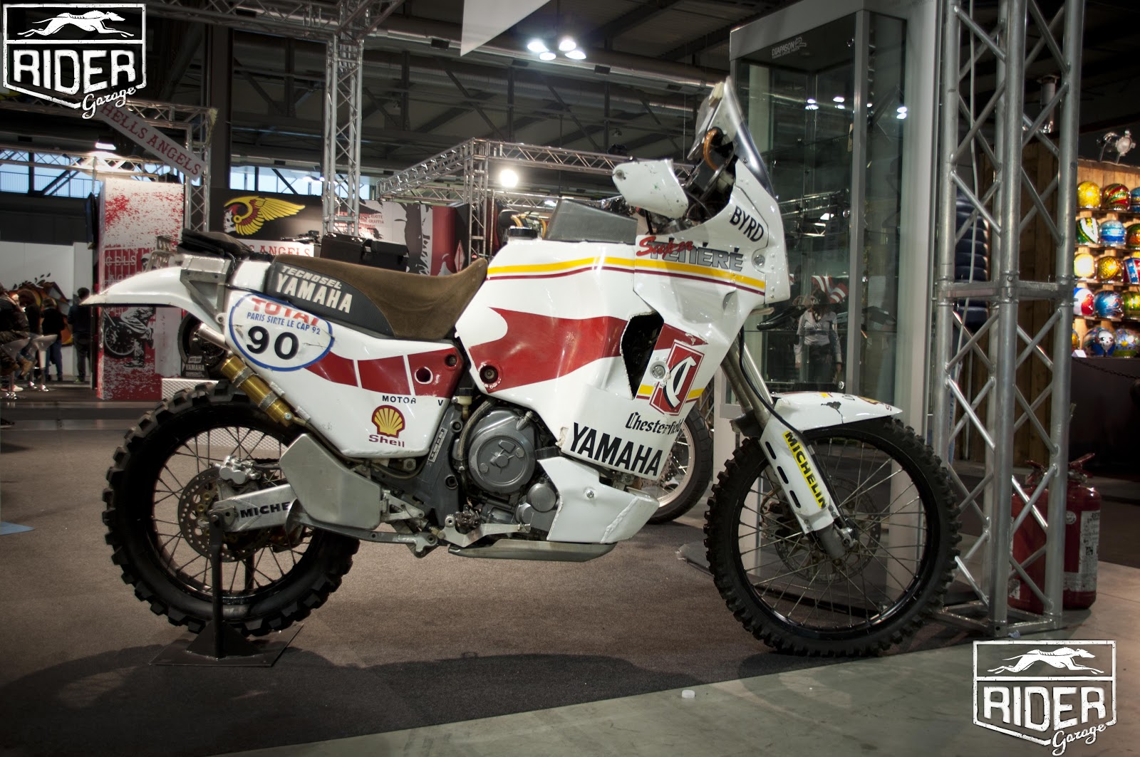 Rider garage sueper tenere byrd eicma 2012 for Garage yamaha paris