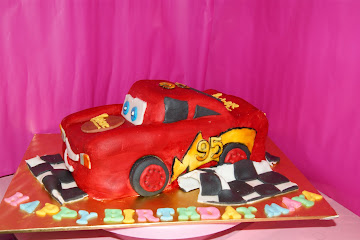 Mc Queen Car Cake