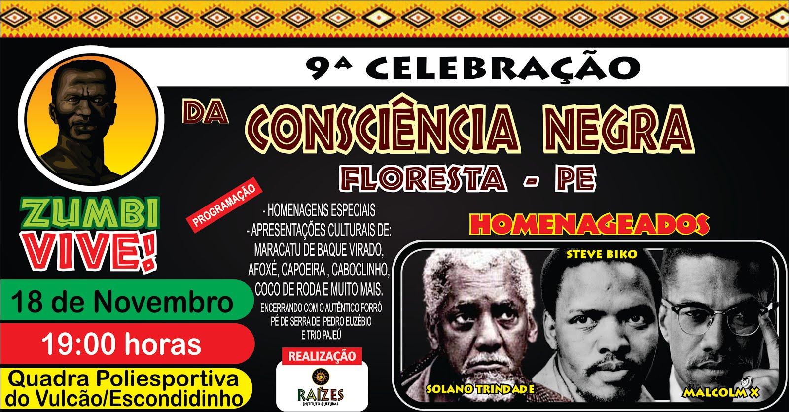 9ª CELEBRAÇÃO DA CONSCIÊNCIA NEGRA EM FLORESTA