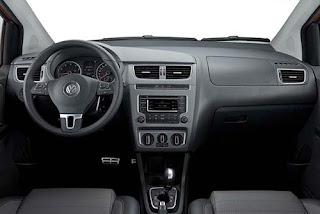 Fotos do Novo SpaceFox 2014 da Volkswagen interior
