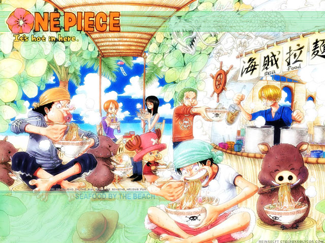 One Piece - Seafood by The Beach