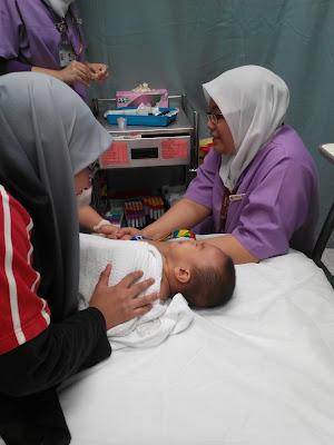 Anak Terkena Jangkitan Rotavirus - Cirit Birit yang teruk