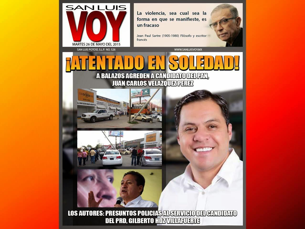 UN POLICÍA AGONIZA Y HAY 5 DETENIDOS.......