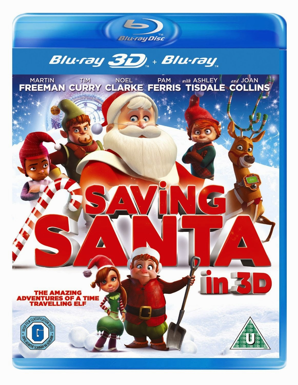 SAVING SANTA ON DVD FROM NOVEMBER 3RD....