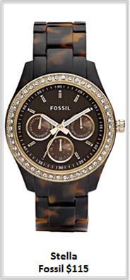 Sydney Fashion Hunter - Timeless Timepieces - Fossil Stella Watch