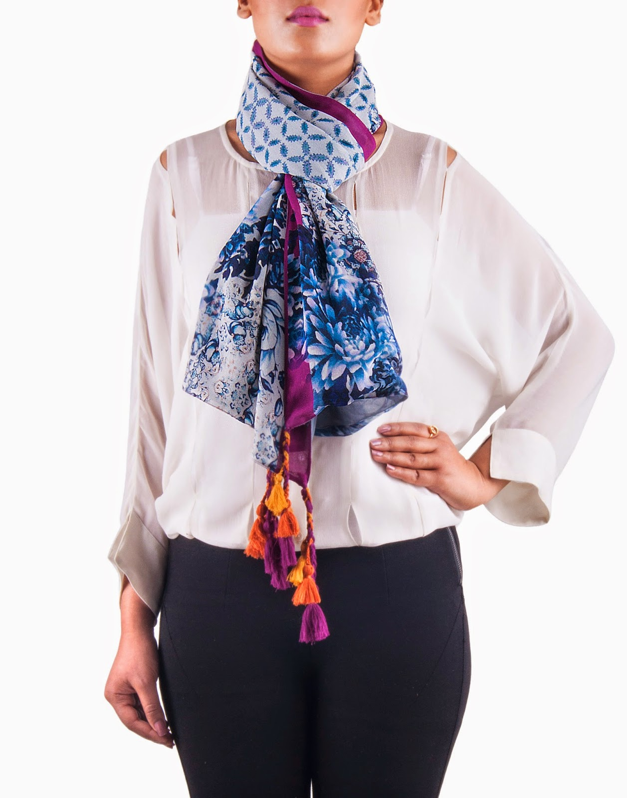 Saiesta.com launches Multi-Hued Scarves