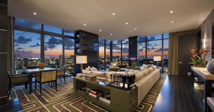 Miami Beach Penthouse For Deep Pockets Architecture