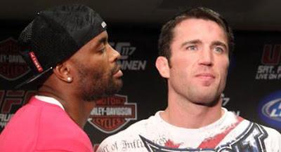 Anderson Silva e Chael Sonnen fazem revanche em Las Vegas no UFC 148 no dia 07 de Julho