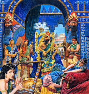 King Sennacherib at Home