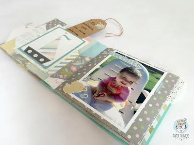 mini álbum bebé