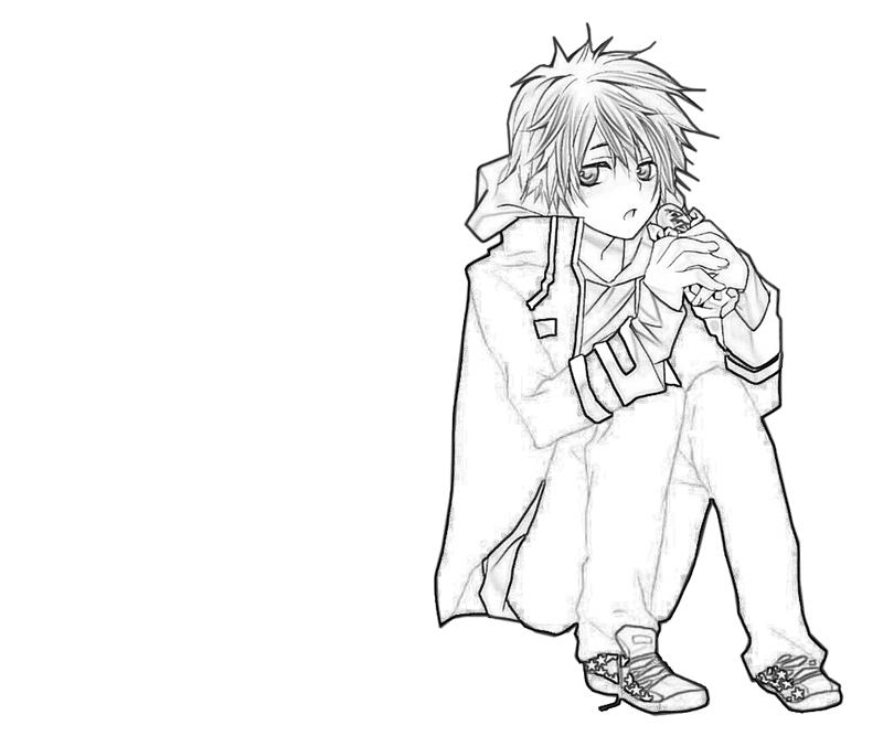 enma-kozato-eat-coloring-pages