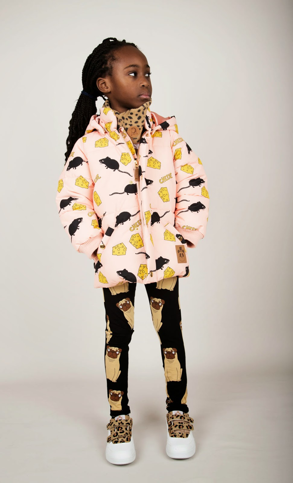 Cheese print by Mini Rodini for Autumn/Winter 2014 kidswear collection