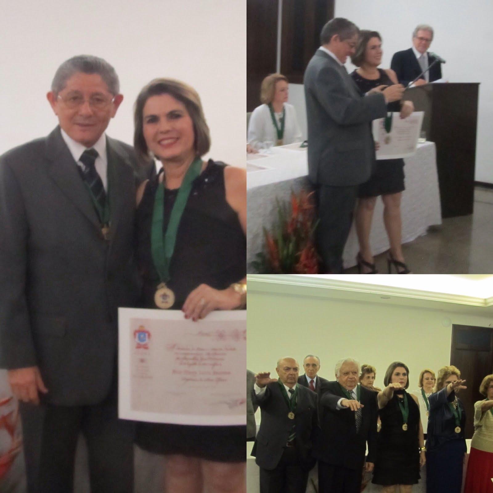 Posse na ALANE - Academia de Letras e Artes do Nordeste. 21/10/2015