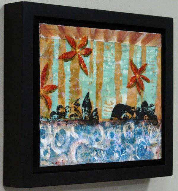 Sandra Duran Wilson collage painting