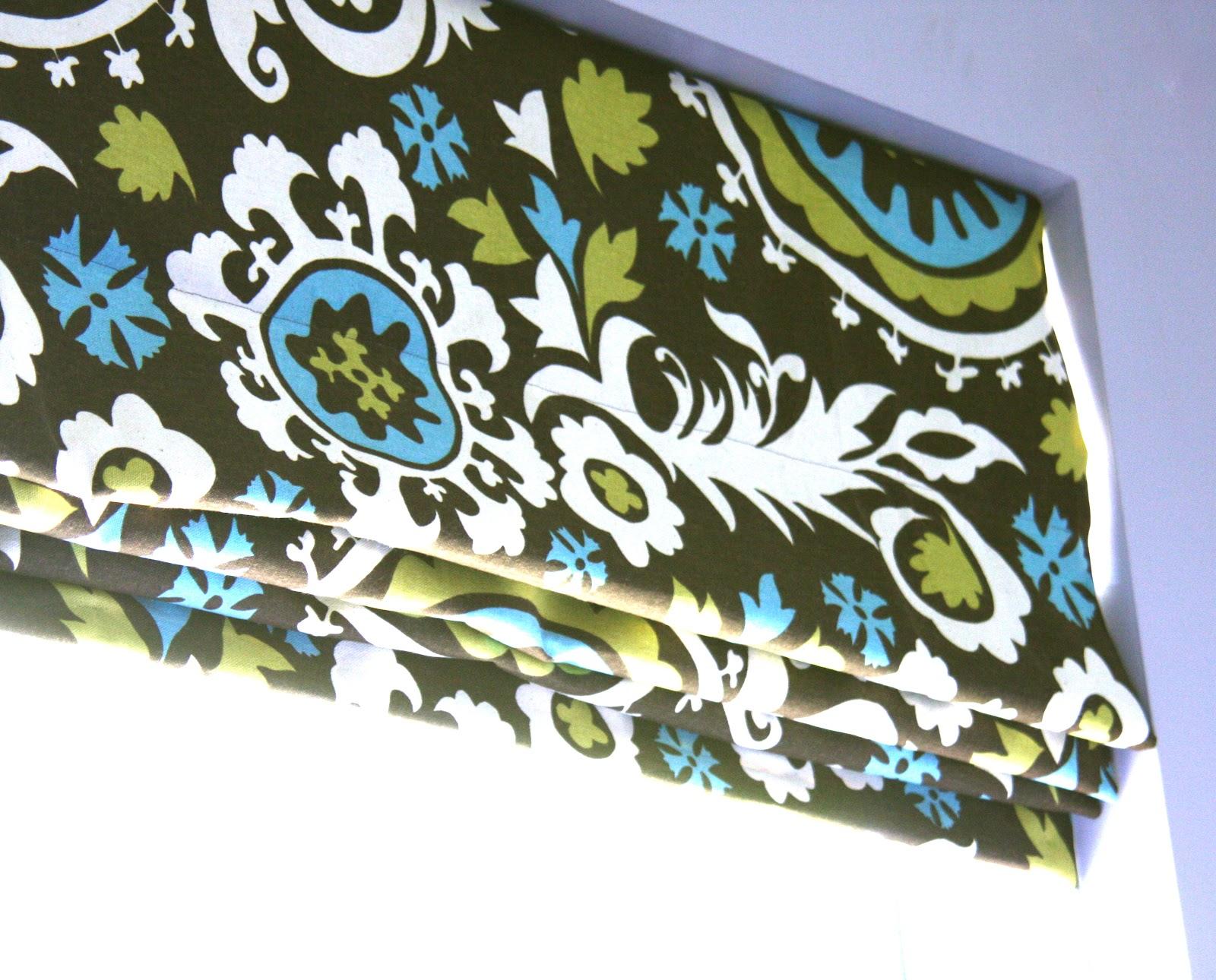 Ro Ro Roman Shade Curtain Patterns - June 17 2011