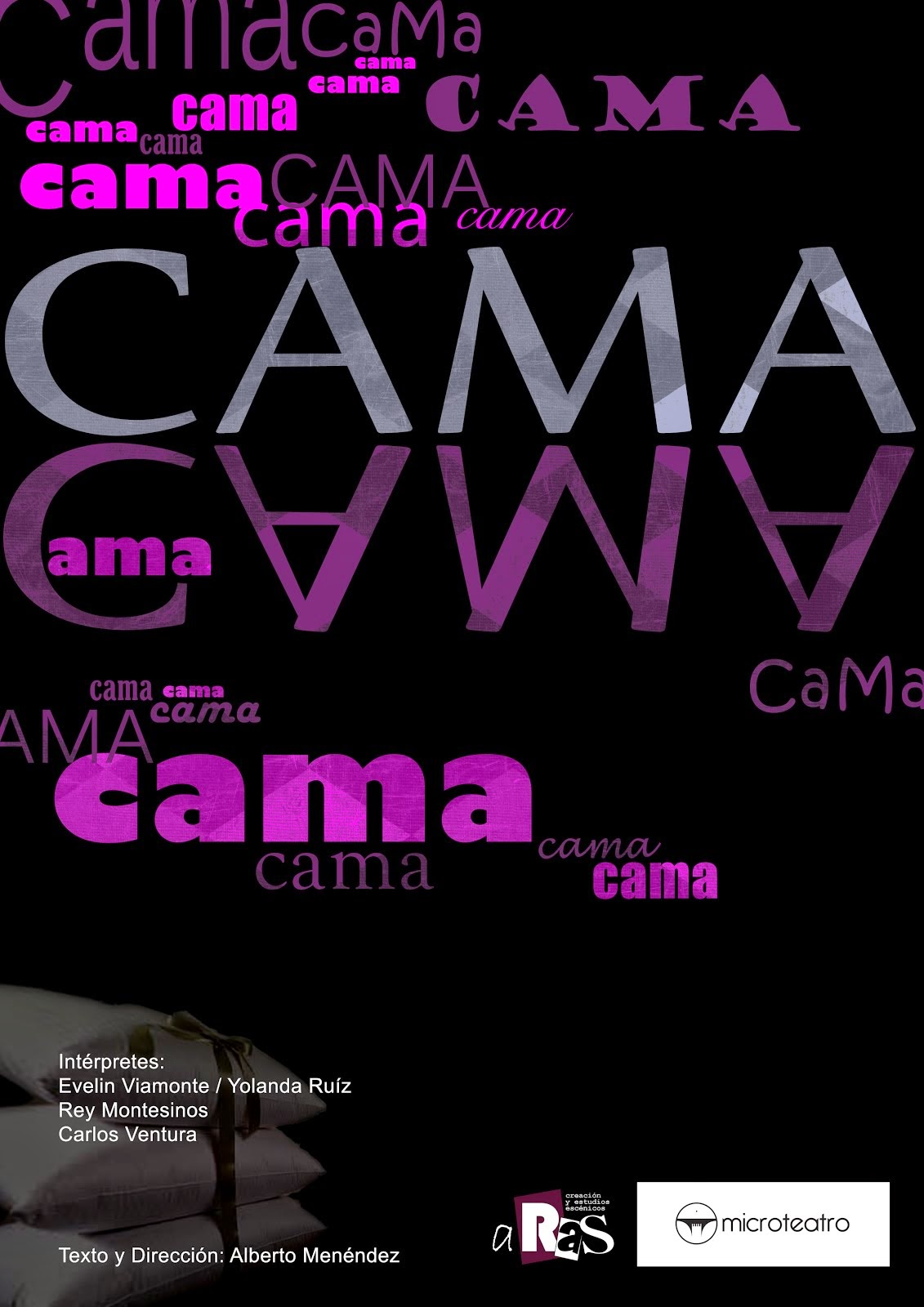 CAMA en Microteatro en Segovia el 6 y 7 de septiembre