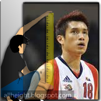 What is the height of James Yap?