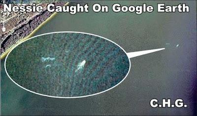 google foto del monstruo del lago ness