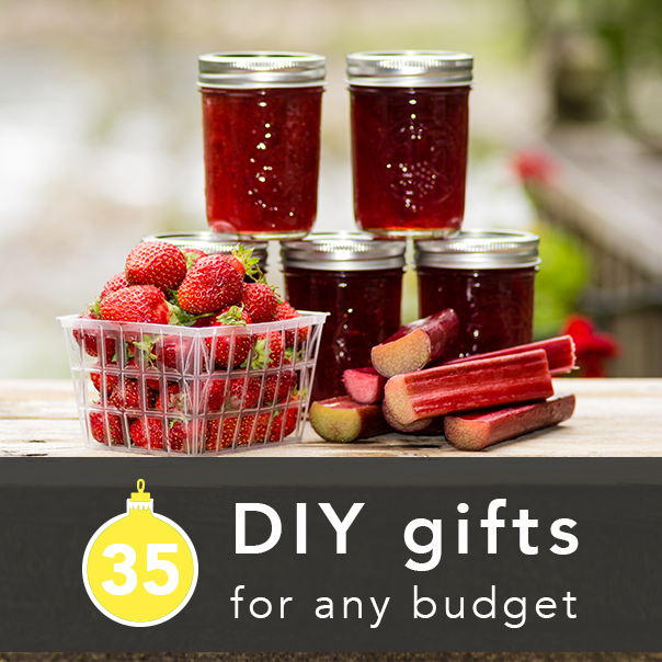 35 DIY Holiday Gifts for Any Budget