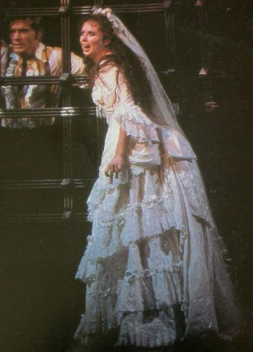 Diary of a phantom phan 31 days of costumes october 2 for Phantom of the opera wedding dress