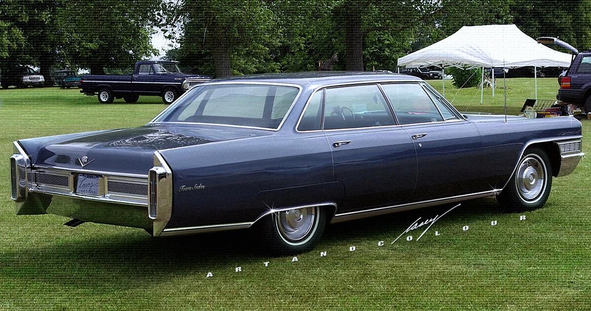 Exceptionnel casey/artandcolour/cars: Short-Deck, 6-Window 1965 Cadillac Town Sedan HM93
