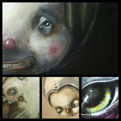 Paintings by Ixie Darkonn