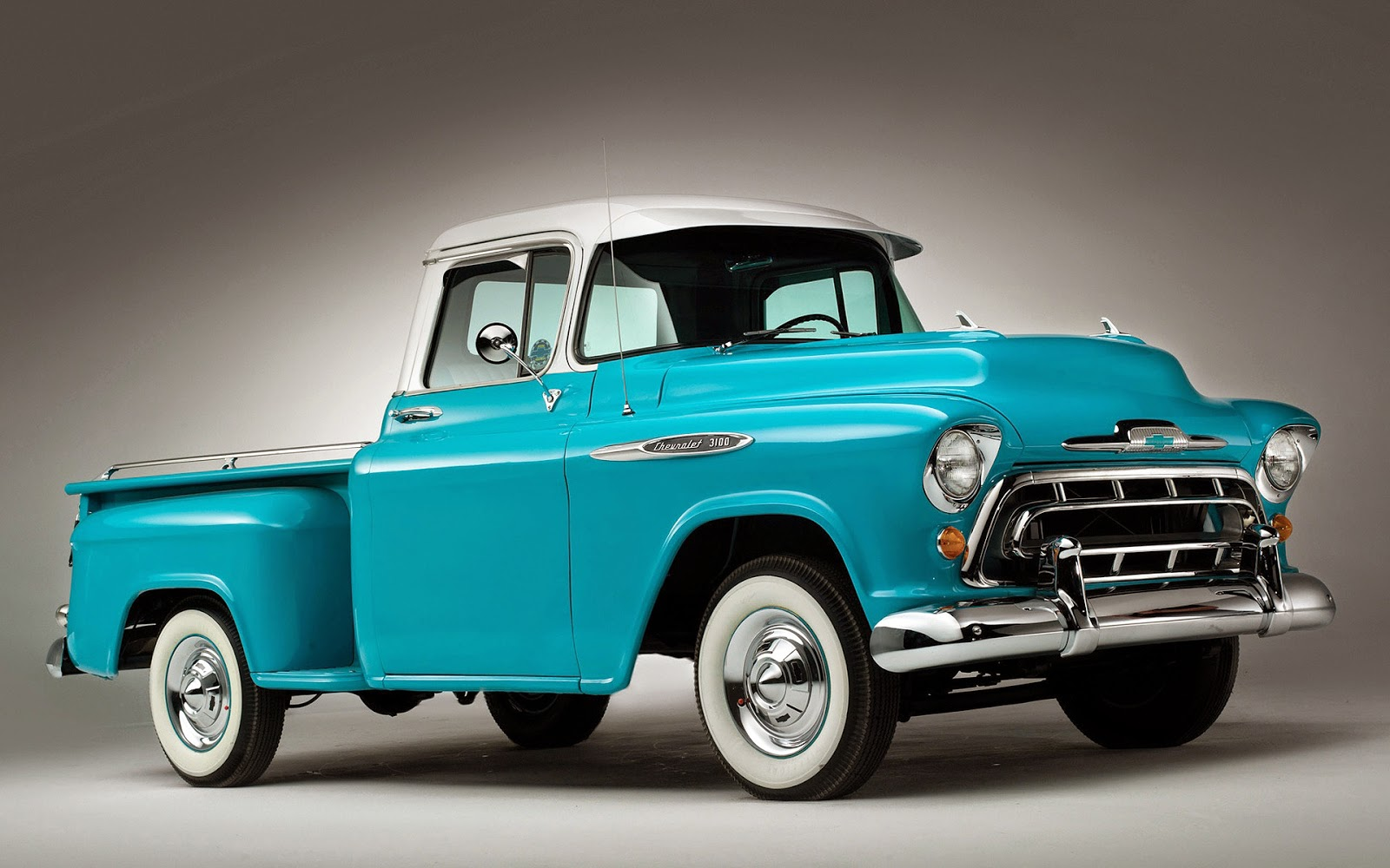 Wallpaper mit blauen Chevrolet 3100
