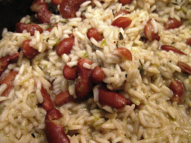 Jamaican Rice And Beans Jamaican rice and beans