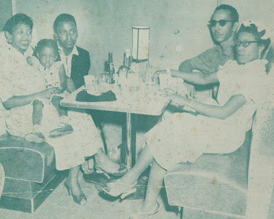 Goree Carter with friends early 1950s