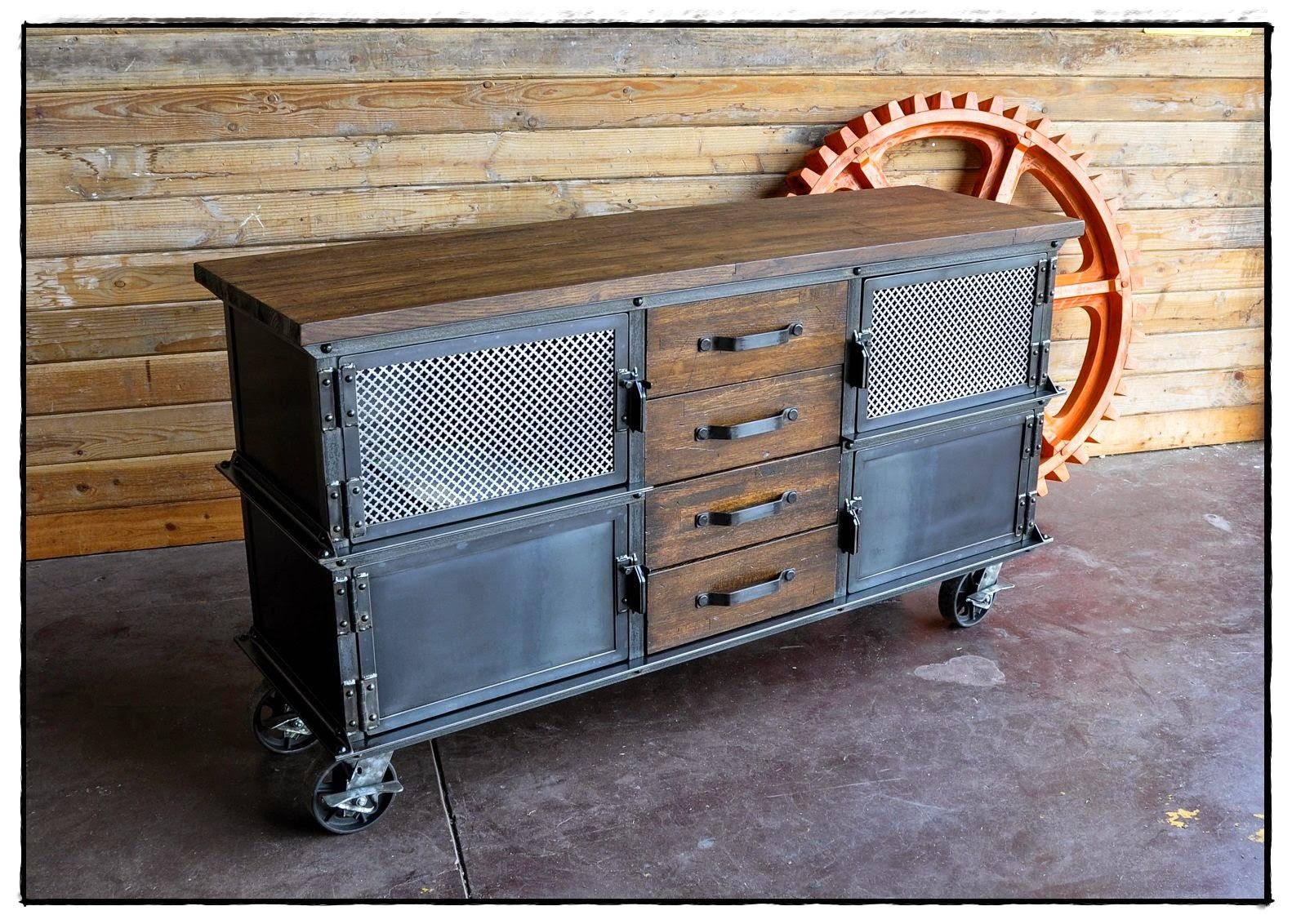 muebles industriales vintage baratos