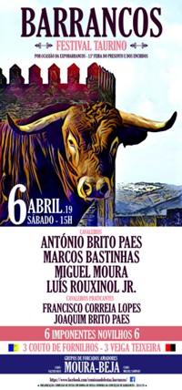Barrancos- Festival Taurino 2019
