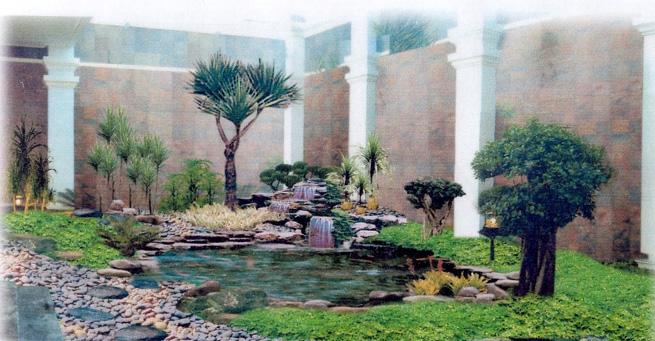 Contoh-contoh taman rumah