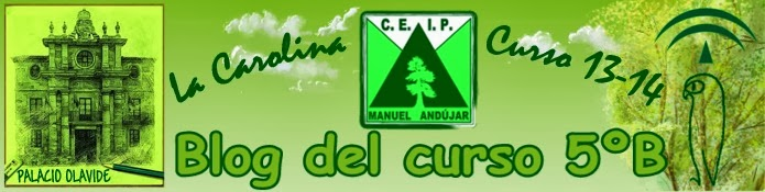 """BLOG del CEIP """"Manuel Andújar""""  de  La Carolina"""