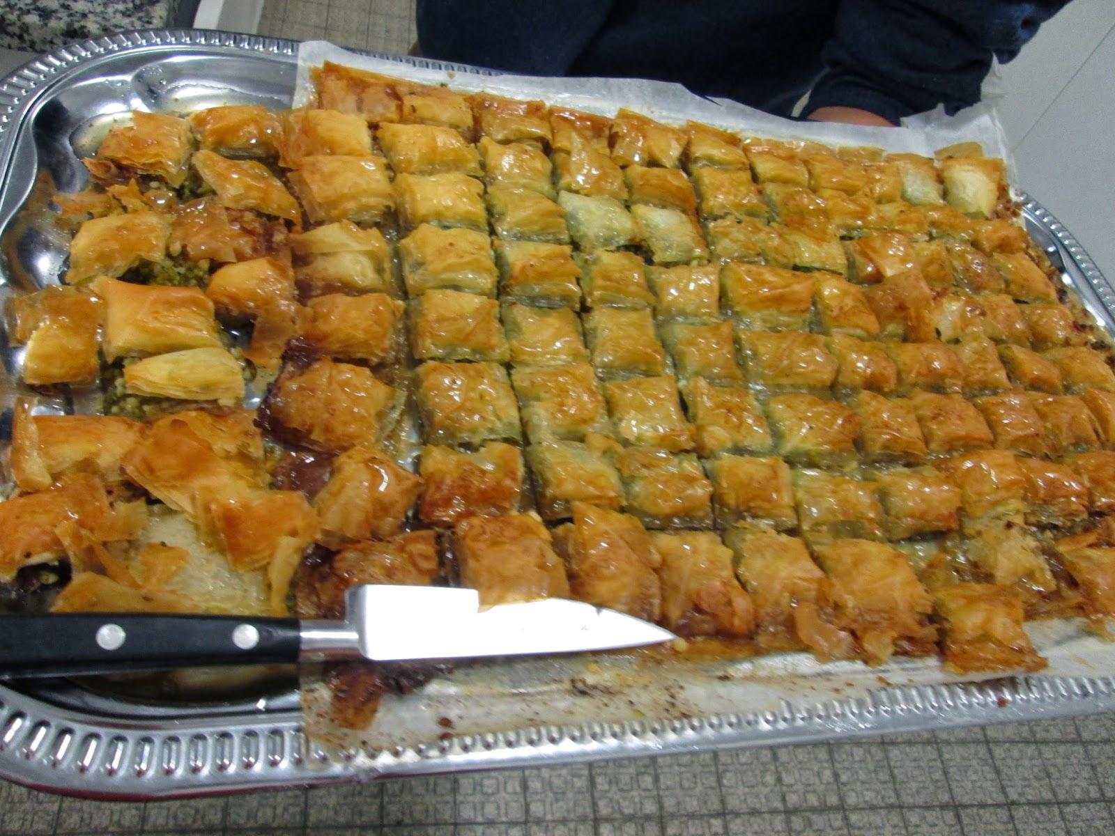Recette baklawa tunisienne