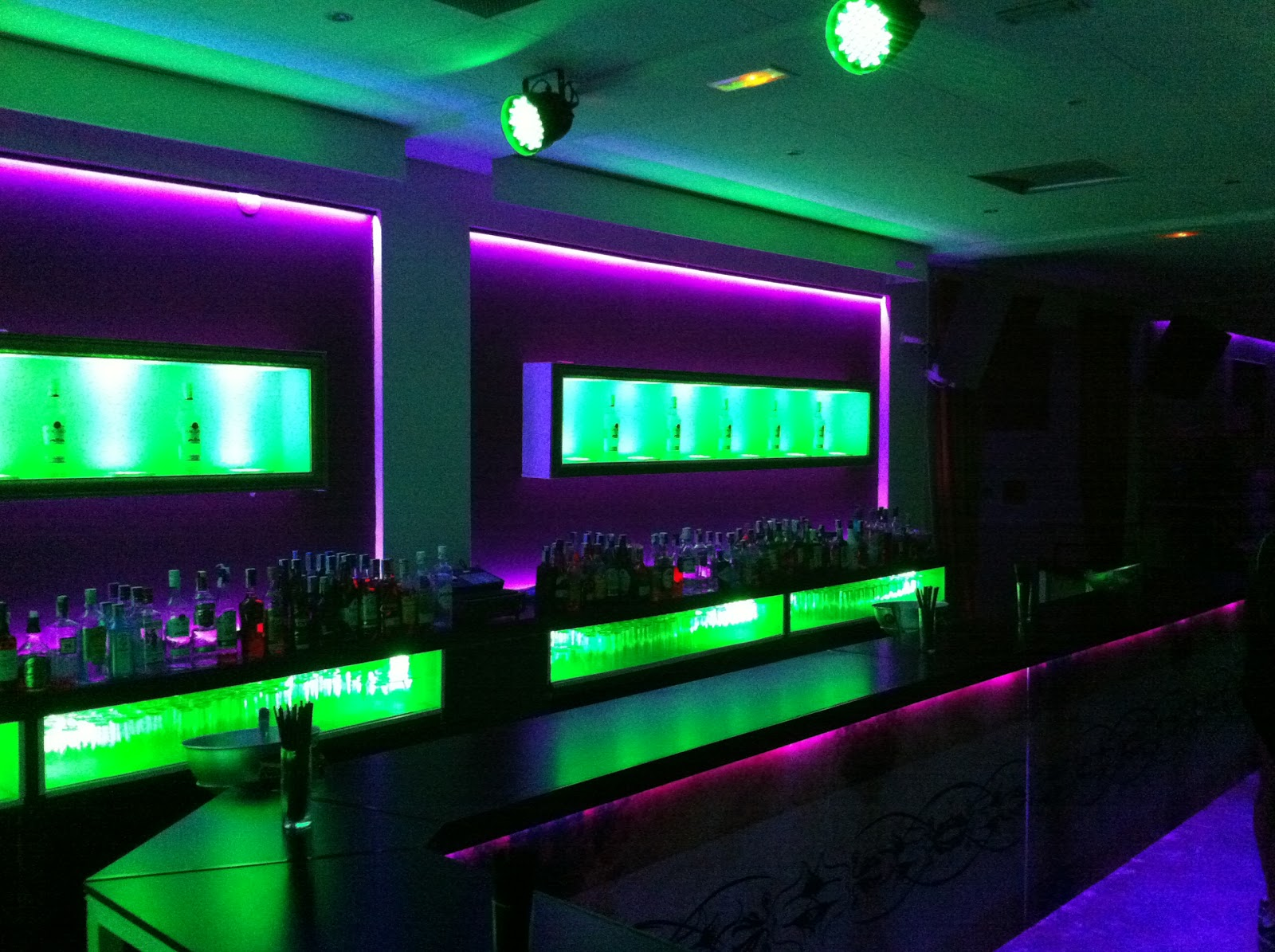 Discotecas 365 for Decoracion iluminacion led