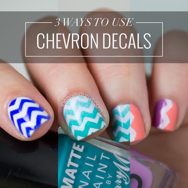 Video: 3 Ways To Use Chevron Decals