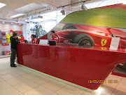 And the front desk of the Ferrari Theme Park (img theme park)