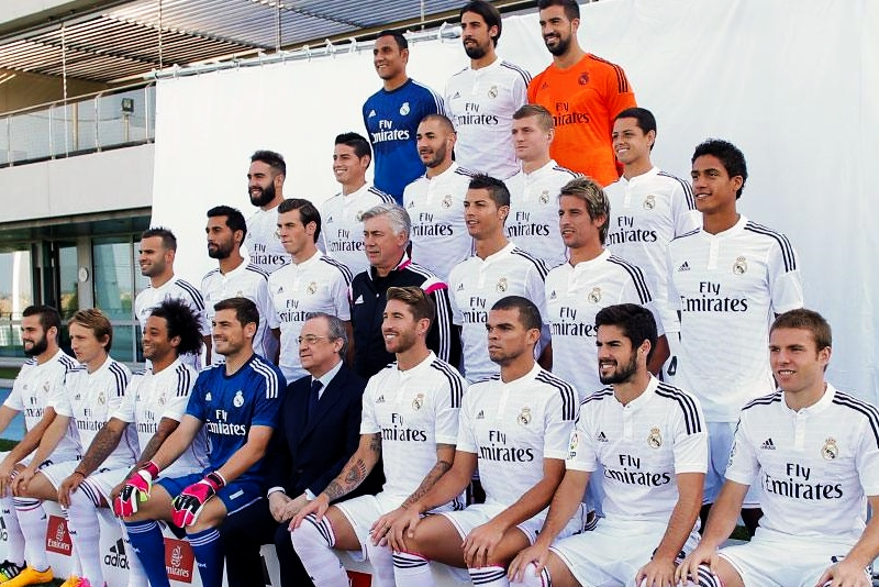 Real Madrid se tomó la foto oficial para la temporada 2014/15.