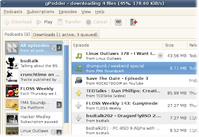 Installer gPodder 2.14 sur ubuntu utilisant PPA