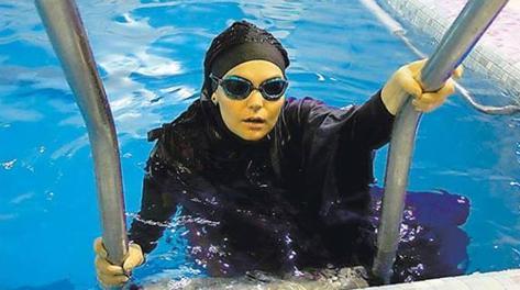 Muslim Women In Sports Iranian Swimmer Elham Asghari 39 My 20km Record Has Been Held Hostage 39