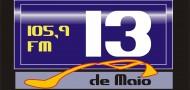 ouvir a Rádio 13 de Maio FM 91,3 ao vivo e online Goiás