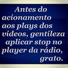 STOP PLAYER