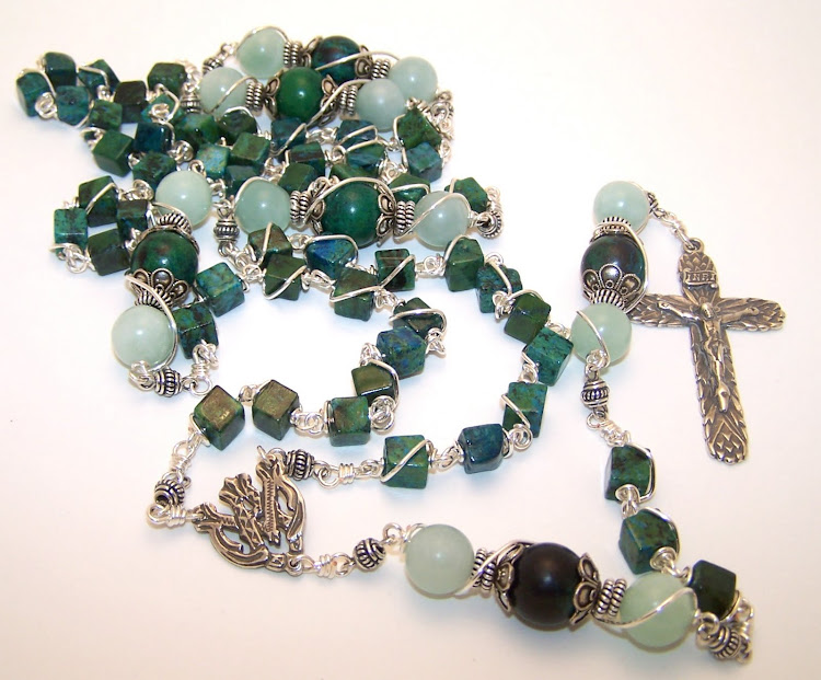 No. 26.  Rosary (Bread of Life) Wheat Rosary