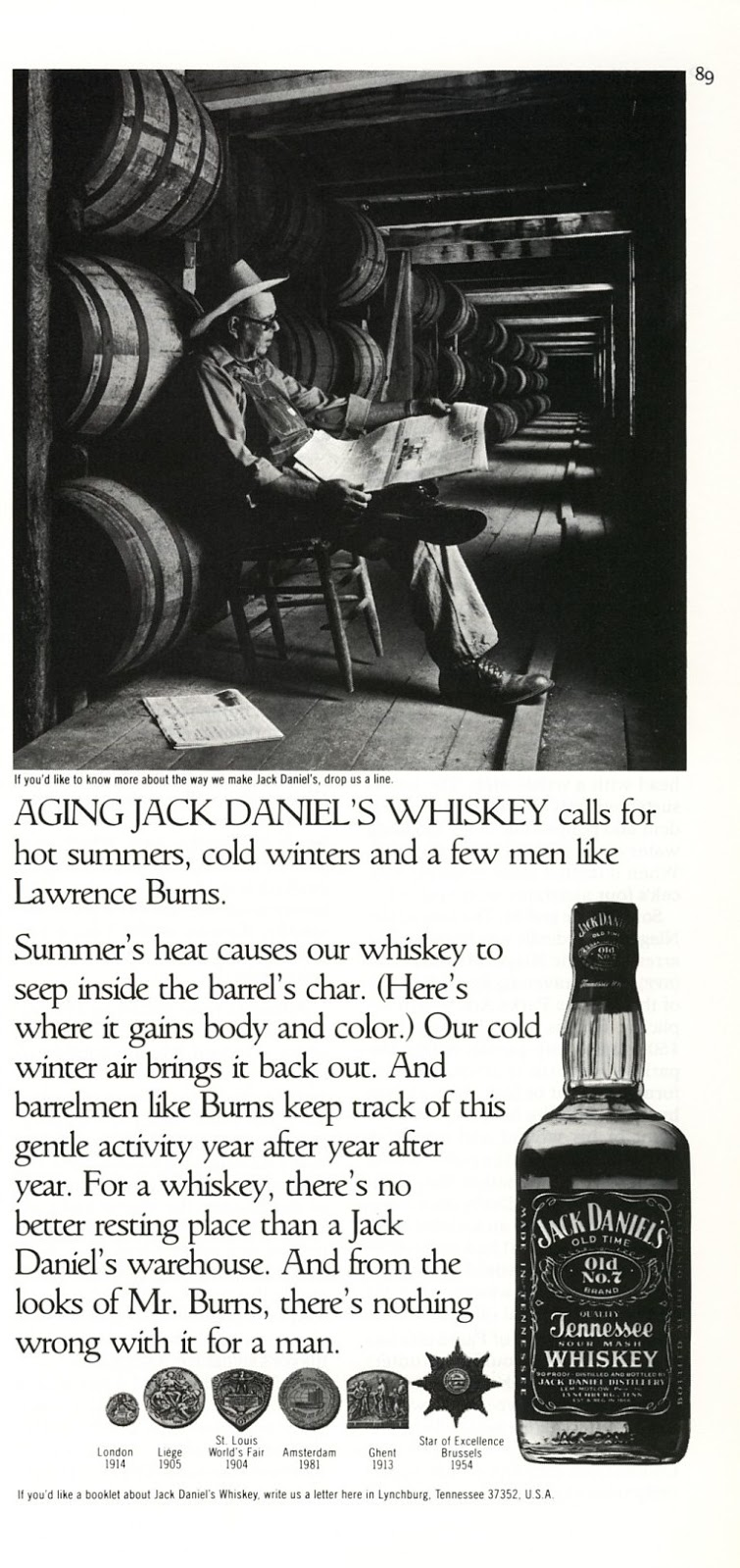 jack daniel s ad print photo whiskey old magazine ads 1985 jack daniel s ad print photo whiskey