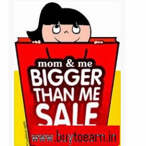 Amazon: Buy Mom & Me Baby & Kids Products 50% off or from Rs. 44