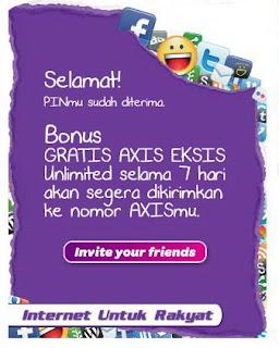 Trik Internet Gratis Axis Eksis 28 Agustus 2012 PC Unlimited