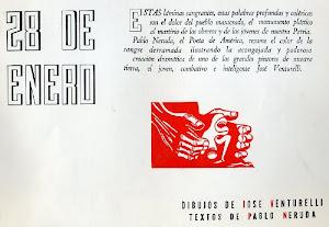 José VENTURELLI y Pablo NERUDA. 28 de enero...