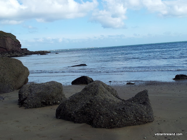 Dunmore East, beach & rocks, Waterford Ireland